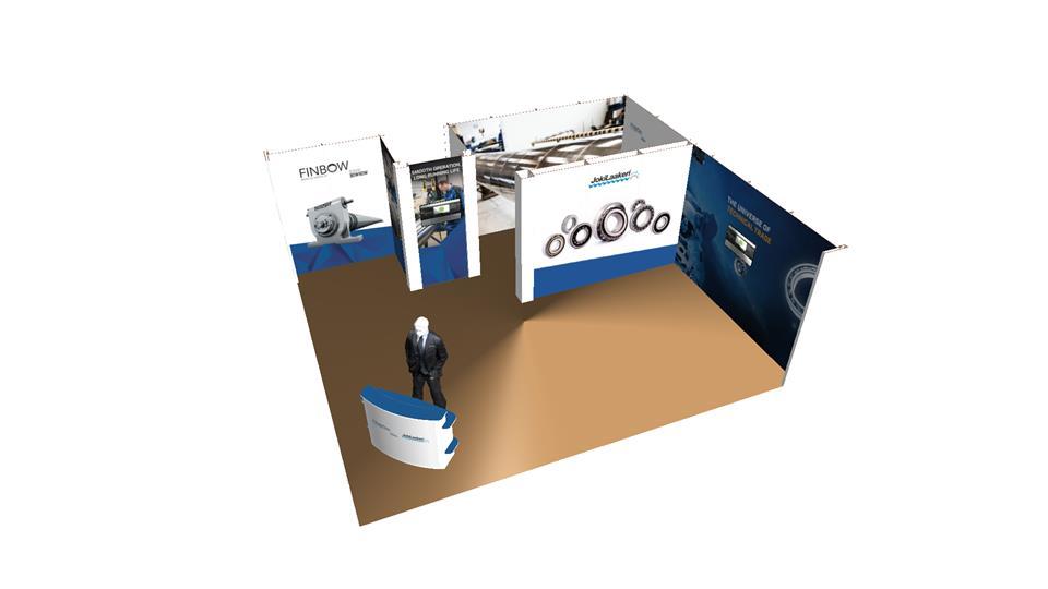 Happyeco -messuosasto: Jokilaakeri / Logistic TKT Systems Oy
