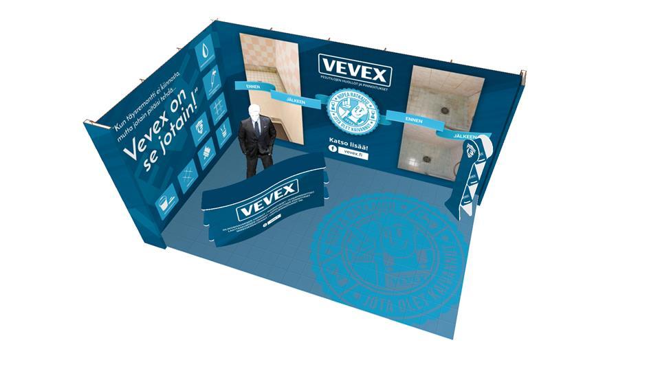 Happyeco -messuosasto: Vevex Oy