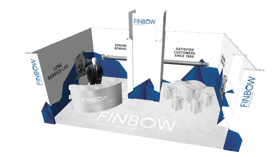 Happyeco -messuosasto: Finbow Brand of Logistics Oy