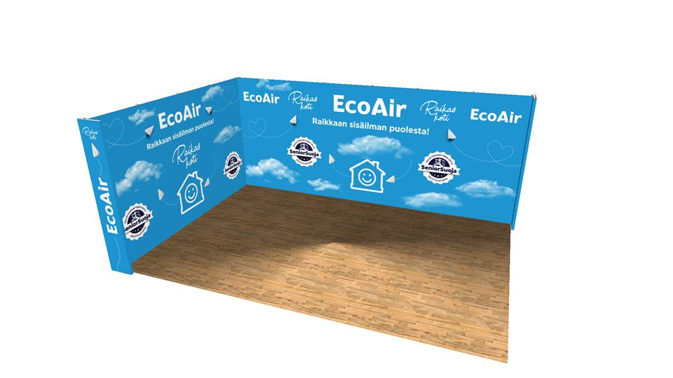 Happyeco -messuosasto: Ecoair
