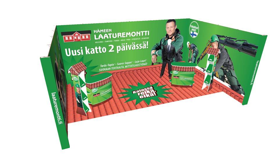 Hämeen Laaturemontti Happyeco messuosasto